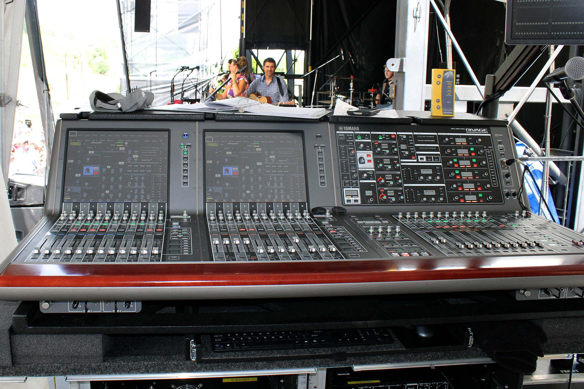 Digital Consoles at MerleFest 2017