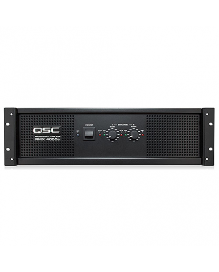 qsc rmx 4050a 2 channel stereo power amplifier 1400 watts at 4 ohms. Black Bedroom Furniture Sets. Home Design Ideas