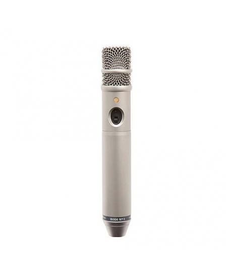 "Rode Microphones NT3 Multi-powered 3/4"" cardioid condenser microphone. P48 and 9V battery powered."