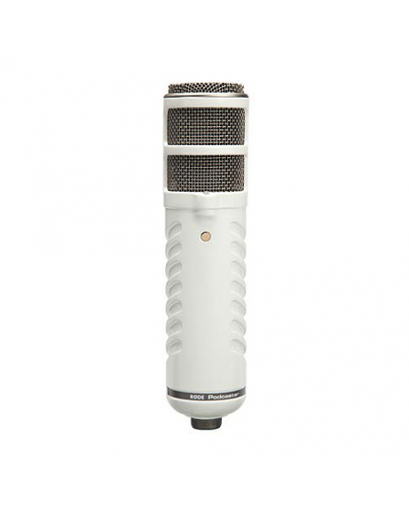 Rode Microphones Podcaster Broadcast quality cardioid end-address dynamic USB microphone.