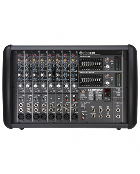 mackie ppm1008 8 channel powered mixer with effects. Black Bedroom Furniture Sets. Home Design Ideas