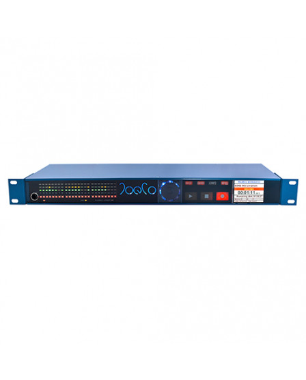 JoeCo BBWR08MP 24ch BLUE BOX INTERFACE RECORDER - 8 MicPres, 16 Line In; 8 Bal Outs
