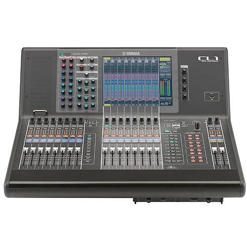 Yamaha cl1 16 fader digital live sound mixing console for Yamaha sound console