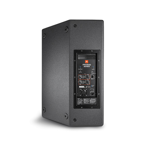 """JBL PRX815W Powered 15"""" two-way system, monitor angle, wood cabinet, dual pole mount, M10 suspension points"""