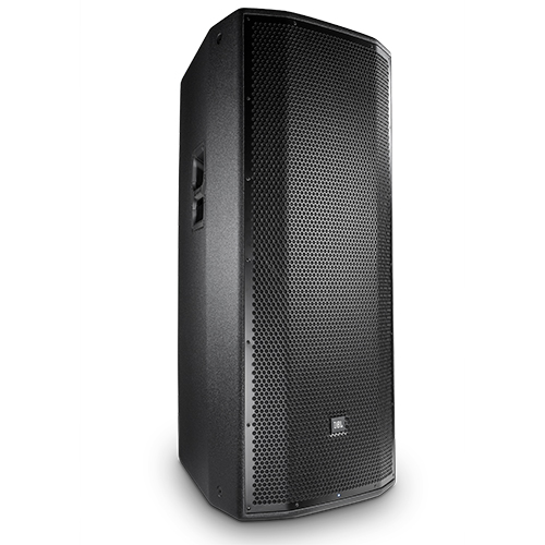 """JBL PRX825W Powered dual 15"""" two-way system, wood cabinet, M10 suspension points"""