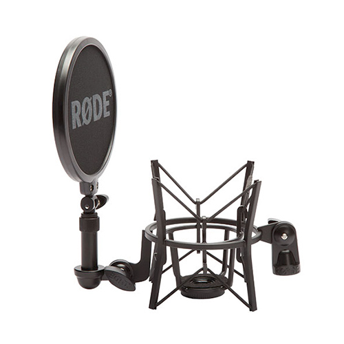 Rode Microphones SM6 Professional suspension shock mount with integrated pop shield.
