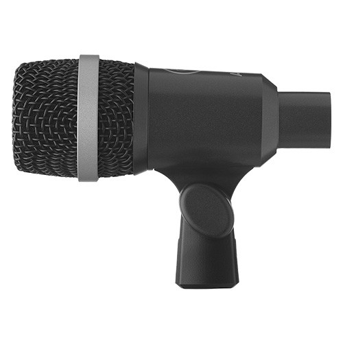 AKG D40, Dynamic instrument microphone designed for drums and percussions, for wind instruments and guitar amps.
