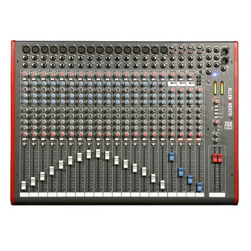 Allen & Heath ZED-24 24 Channel Multipurpose Mixer with USB