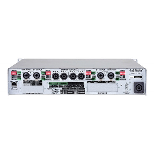 Ashly nXe3.04 Network Power Amplifier 4 x 3,000 Watts @ 2 Ohms