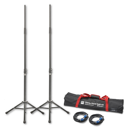 HK Audio LUCAS-KM600, LUCAS NANO 600 SERIES STEREO STAND ADD-ON, K&M stands, cables and bag.