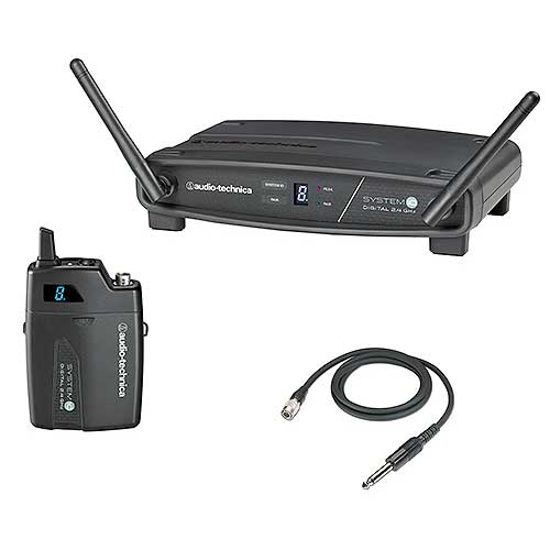 Audio-Technica ATW-1101/G System 10 Digital Wireless Instrument System