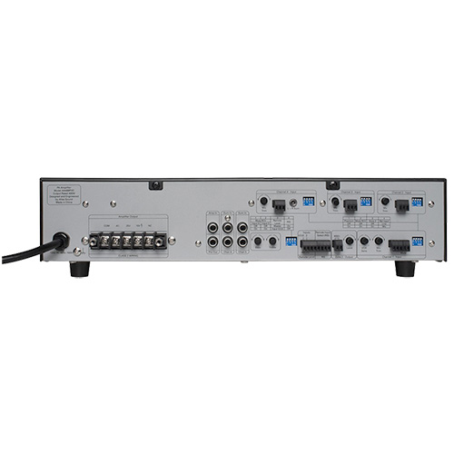 Atlas AA400PHD 6-Input, 400 Watt Mixer Amplifier with Automatic System Test Circuitry (PHD)