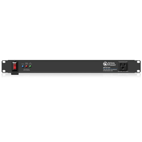 Atlas AP-S15A 15A Power Conditioner and Distribution Unit with IEC Power Cord
