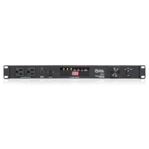 Atlas ECS-3 15A Power Sequencer and Conditioner
