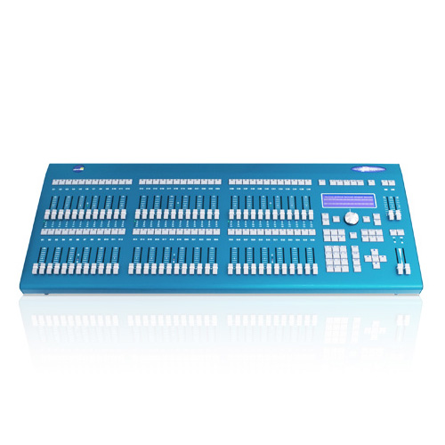 Leviton PPIC0-V36 Piccolo 144 channel, 32 attribute lighting console with 2x36 faders. With video option installed.