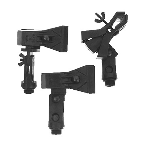Whirlwind CLH Microphone clamp, microphone-Eze, horizontal combo