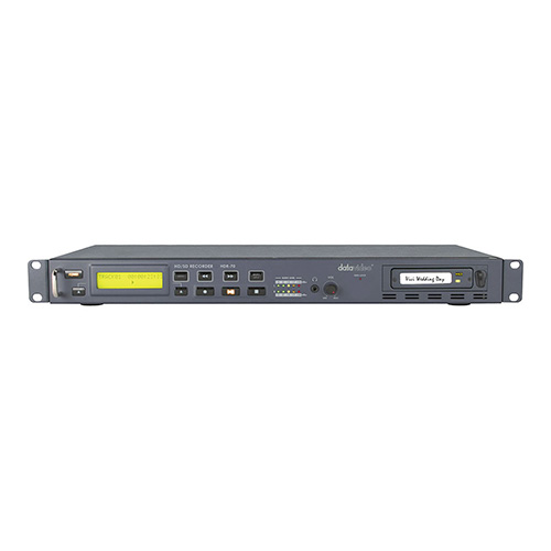 DataVideo HDR70 HD/SD-SDI recorder with one 320 GB HDD removable HDD, rack mount.