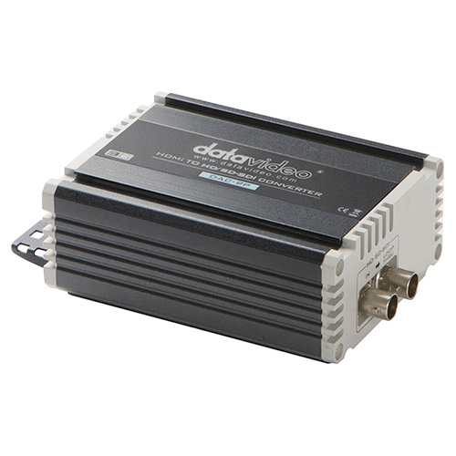 DataVideo DAC9P HDMI to HD/SD-SDI Converter with embedded audio. It supports 1080p video resolution.