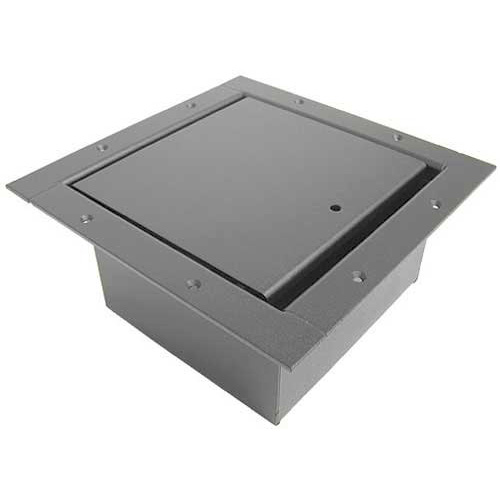 ACE Backstage Full Pocket Floor Box with Standard Lid - Black