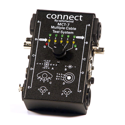 Whirlwind MCT-7 Audio Cable Tester