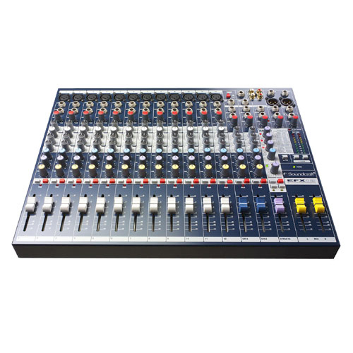 Soundcraft EFX12 12 Channel Mixer with Lexicon Digital Effects
