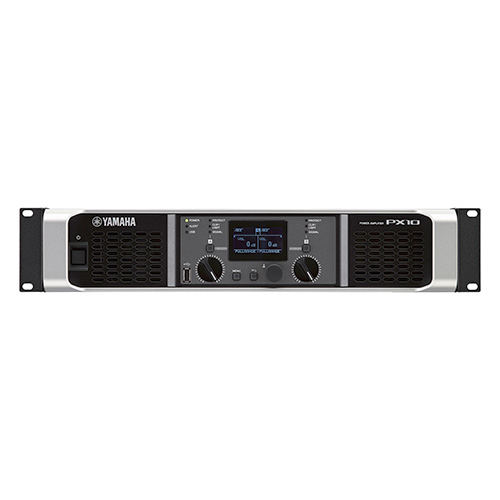 Yamaha PX10 Stereo Power Amplifier, 1200 Watts at 4 ohms