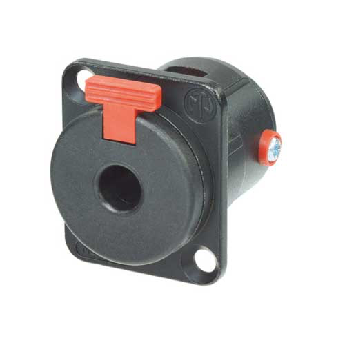"Neutrik NJ3FP6C-BAG 2-Conductor 1/4"" Locking Receptacle"