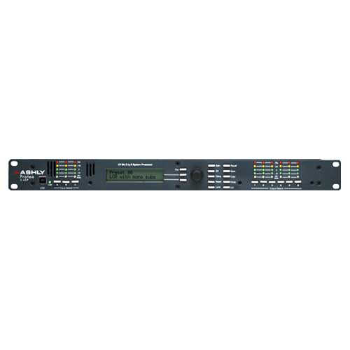 Ashly 3.6SP Protea DSP Loudspeaker System Processor 3-In x 6-Out with USB