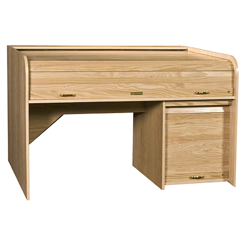 HSA EXTRT-II Extended Rolltop Desk with 10 Space Lower Rack