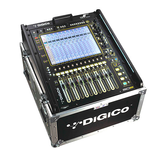 DiGiCo FC-SD11-2 Flight Case for SD11 Console