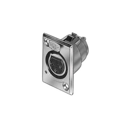 Switchcraft D3F XLR3F Receptacle Nickel
