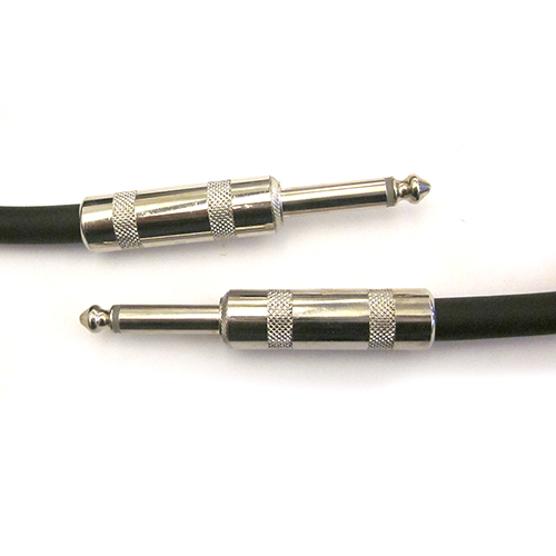 Rapco Horizon H14-6 Concert Series Black 14 gauge cable (2) 1/4 inch, 6 Foot