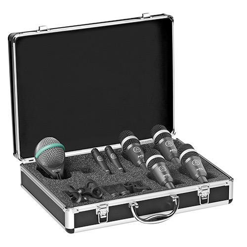 AKG DRUMSET CONCERT 1, High-Performance Drum Microphone Set