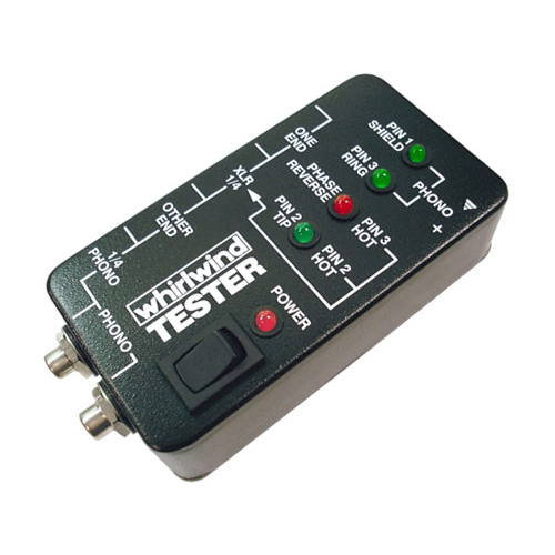 Whirlwind TESTER Audio Cable Tester