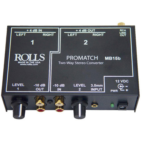 Rolls MB15b Promatch 2-way Audio Converter