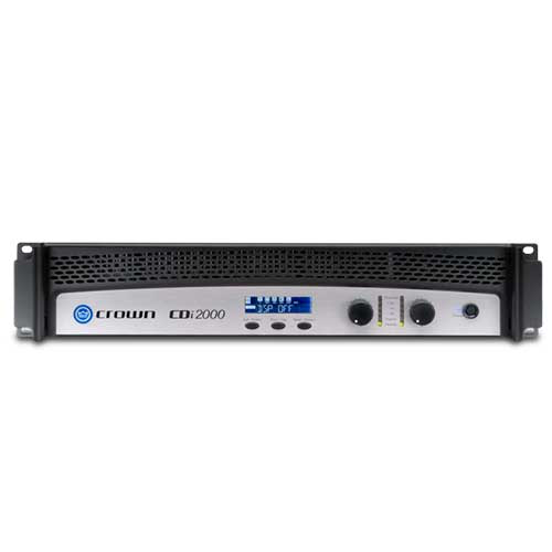 Crown CDi 2000 2 Channel Stereo Power Amplifier with DSP