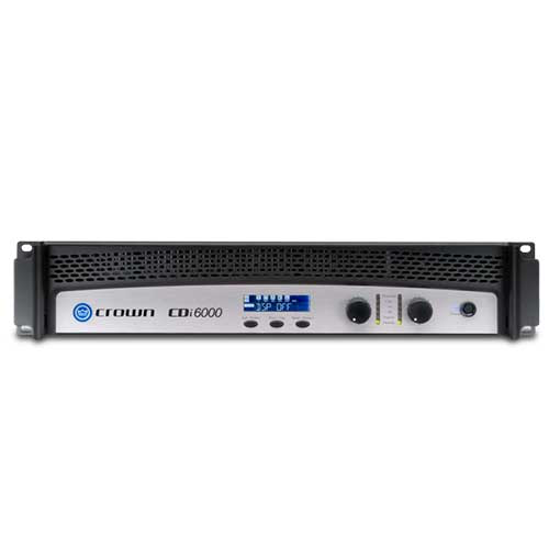 Crown CDi 6000 2 Channel Stereo Power Amplifier with DSP