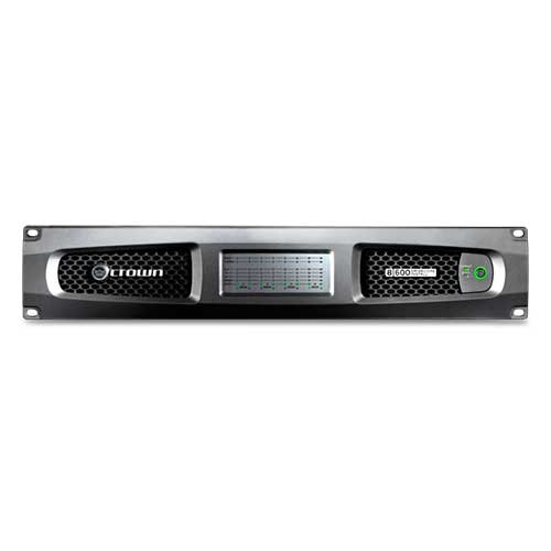 Crown DCi 8 600 DriveCore™ Install Analog series Eight-channel Power Amplifier