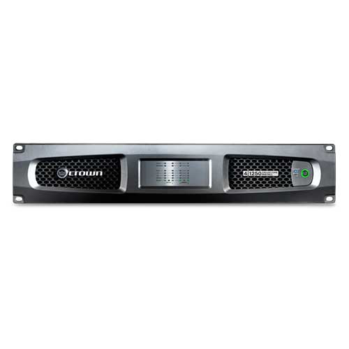 Crown DCi 4|1250 DriveCore™ Install Analog series Four-channel Power Amp