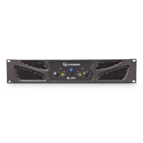 Crown XLi800 2 Channel Stereo Power Amplifier, 300 Watts, 4 ohms