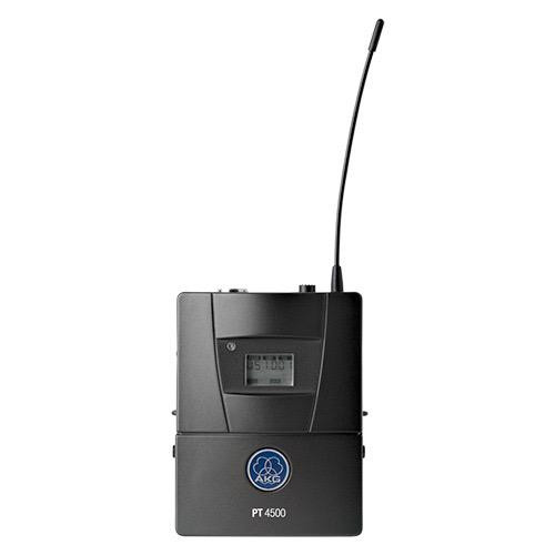 AKG PT4500 BD8 50mW, Professional wireless bodypack transmitter, Frequency range of 570.1 to 600.5MHz