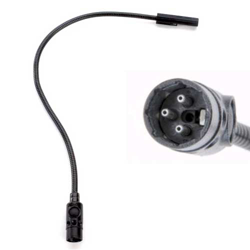 "Littlite 18X-LED 18"" LED Gooseneck with 3-pin XLR connector"