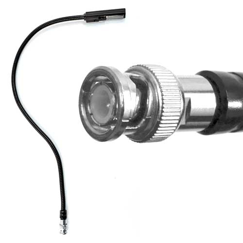 "Littlite 18G-LED 18"" LED Gooseneck with BNC connector"