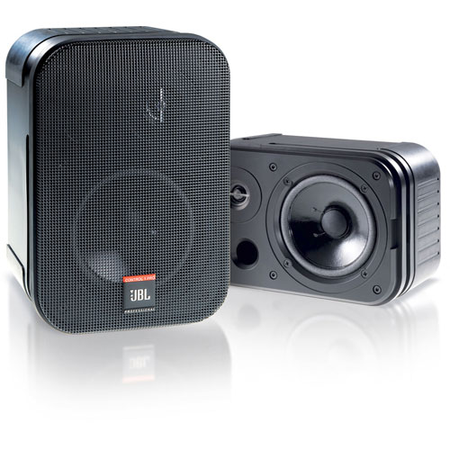 JBL C1 PRO Compact Two-Way Loudspeaker, Black. Priced as Each. Packaged and sold in pairs.