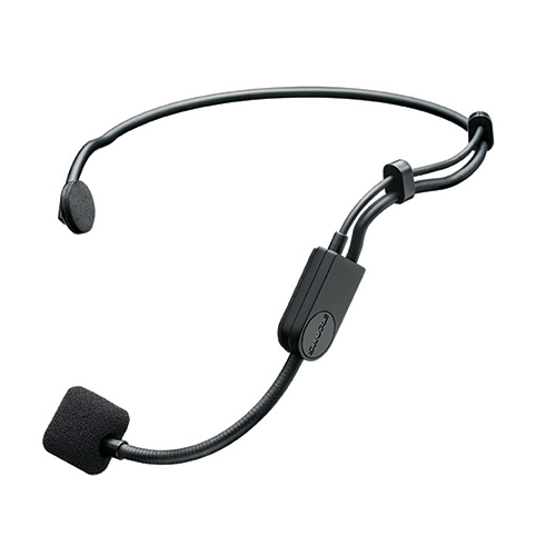 Shure PGA31-TQG Headset Cardioid Condenser Microphone with Windscreen with TA4F Connector
