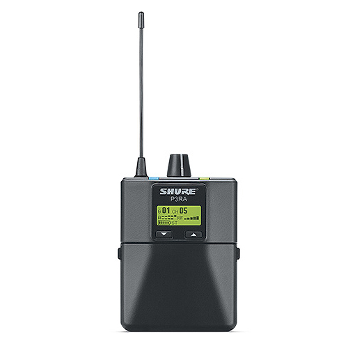 Shure P3RA PSM300 Series IEM Pro Wireless Receiver, G20(488-511 MHz)