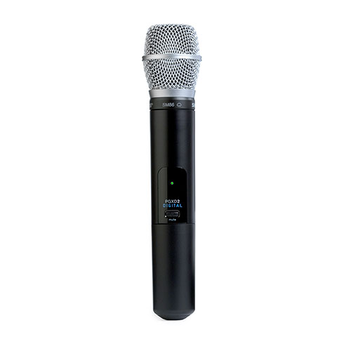 Shure PGXD2/PG58-X8 Handheld Transmitter with PG58 Microphone