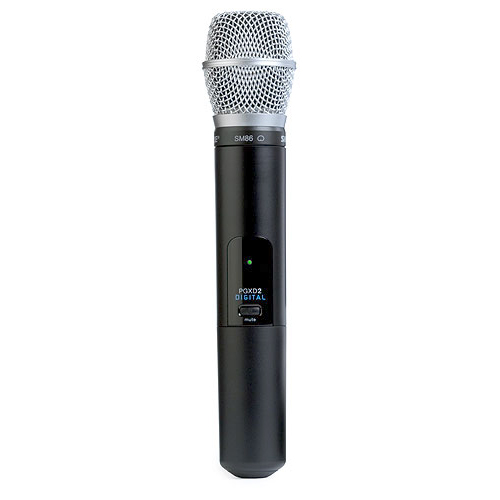 Shure PGXD2/SM86-X8 Handheld Transmitter with SM86 Microphone