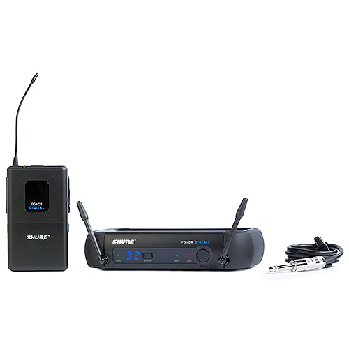Shure PGXD14-X8 Digital Wireless System for Guitar/Bass, X8 Band