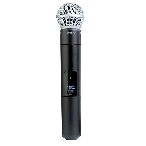 Shure PGXD2/SM58-X8 Handheld Transmitter with SM58 Microphone